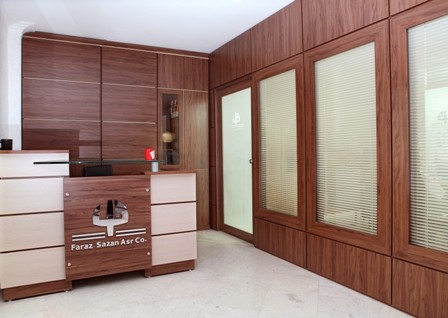 Design and implementation of partitions, double glazing, MDF (MDF)and Single-walled aluminum