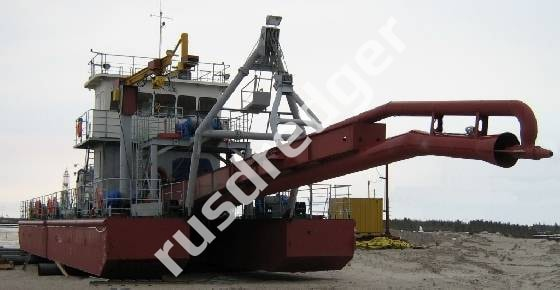Dredger 2000 by URAL HYDROMECHANICAL PLANT CJSC