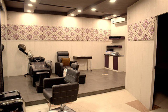 Interior decoration, Showcase, store, shop, Salon, hairdresser