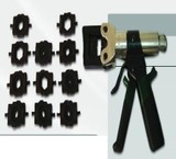 Press cable lug is a device, homogeneity of hydraulic model HT-150