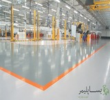 Epoxy flooring, industrial, anti-static, anti-acid and stock many polymer
