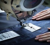 The services of sewing custom dresses (VIP) by professional designer in place