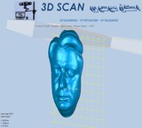 Scan, three-dimensional, mobile, Arak, Iran