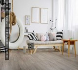 Broadcast and sale of parquet, laminate