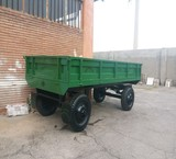 Trailer four wheel tractor