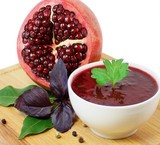 Sale and offering pomegranate paste with excellent quality and ... made of pomegranate, Organic Gardens shahreza